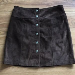 GAP SIZE 4 26X15 SUEDE LEATHER